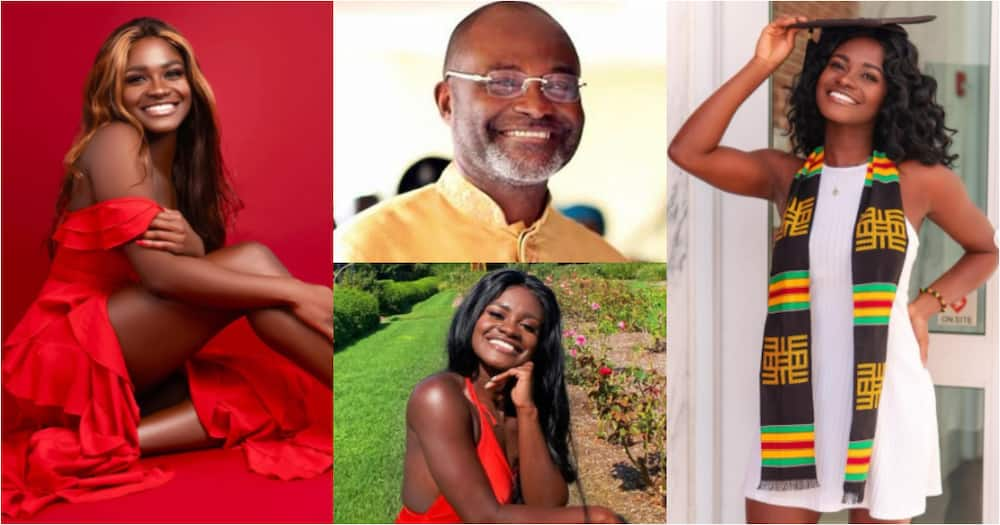 Anthonel: Meet the smart daughter of Ken Agyapong who's a science genius (Photos)
