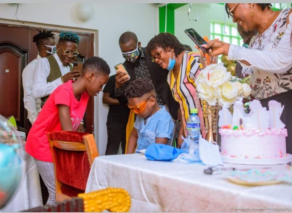 Shatta Wale celebrates daughter Nhyira's 10th birthday (photos)