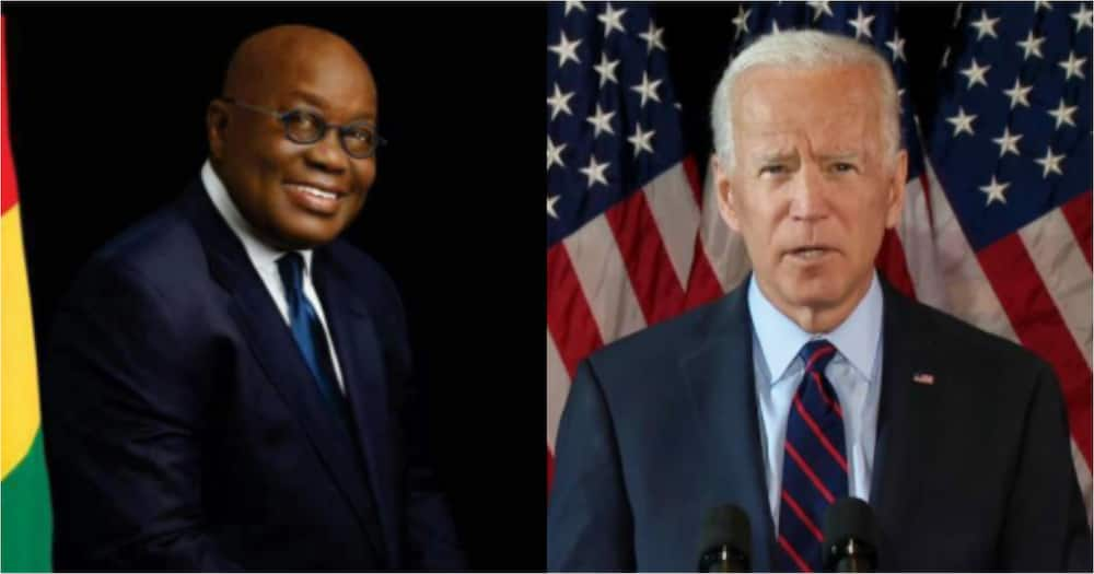 US election: Deliver unity, security, progress and prosperity to all Americans - Akufo-Addo to Biden