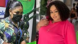 Kumawood actress Vivian Jill speaks after Afia Schwar alleged that her son Alfie is for another man; flaunts boy in video