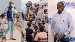 Kenneth Agyapong: Son of Ghanaian millionaire MP feeds the poor with fresh meals to mark his b'day