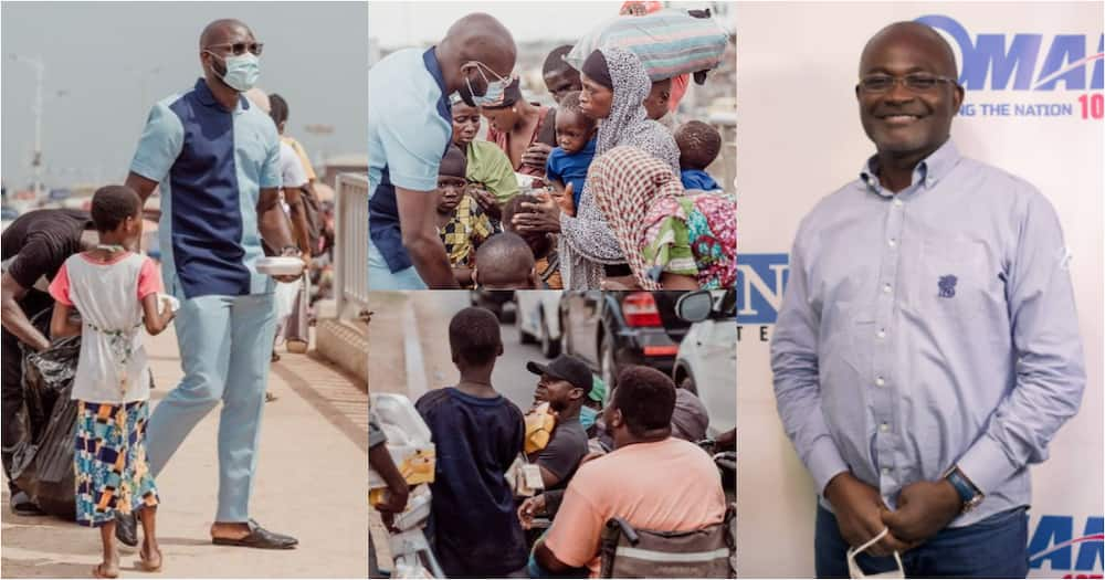 Kenneth Agyapong: First son of Ghanaian millionaire MP feeds the poor with fresh meals to mark his b'day