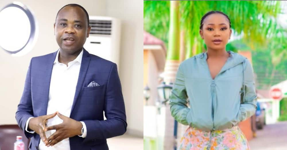 Akuapem Poloo: Actress Reveals Bright Appiah Wanted to be Signatory to his son's Account