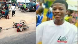 Photos of the 3 Adeiso PRESEC students crashed to death pop up
