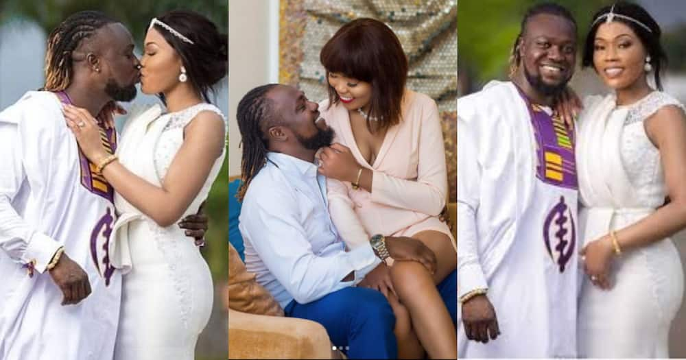 Eddie Nartey drops emotional video with his late wife