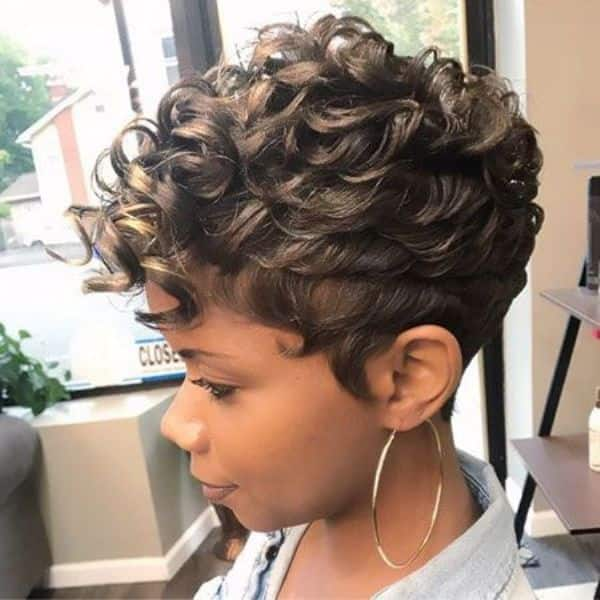 pineapple waves hairstyle