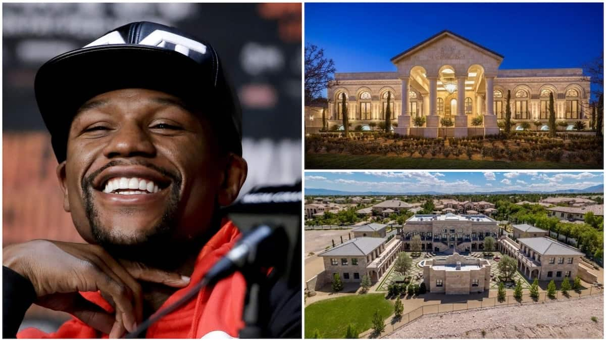 Floyd Mayweather's GHC138m Los Angeles mansion comes with amazing luxuries (video, photo) - YEN.COM.GH