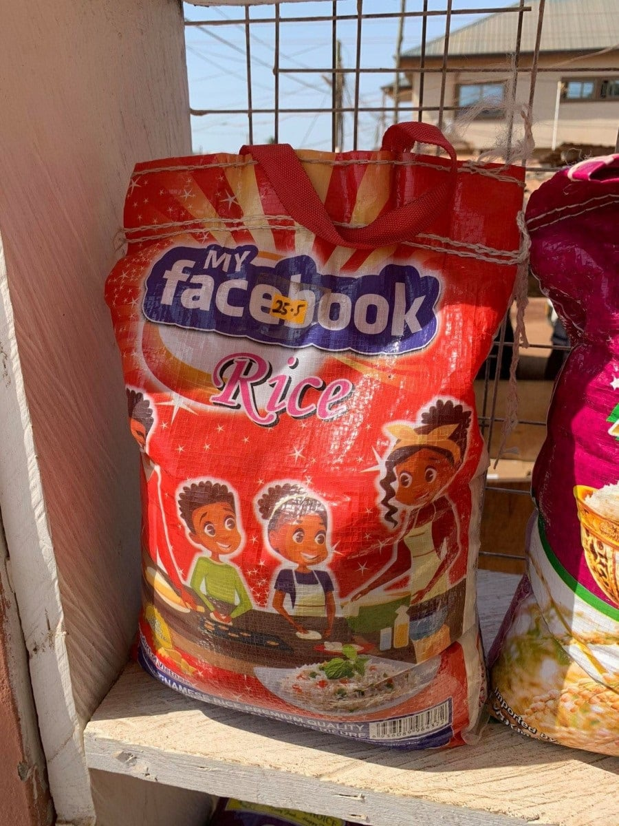 """""""My Facebook"""" and """"Google"""" rice hit market shelves as lockdown looms"""