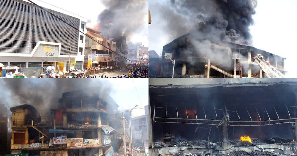 Makola Fire Outbreak: Latest Photos The Real Devastation Caused By The Inferno