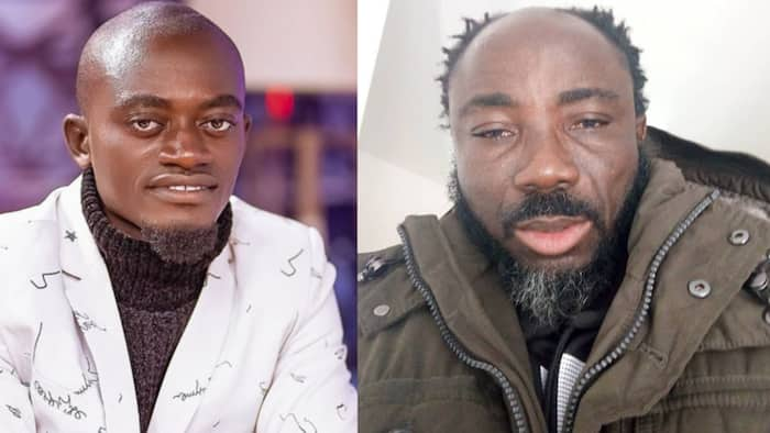 Lil Win boldly addresses Big Akwes' devilish claims against him with Bible; fans divided