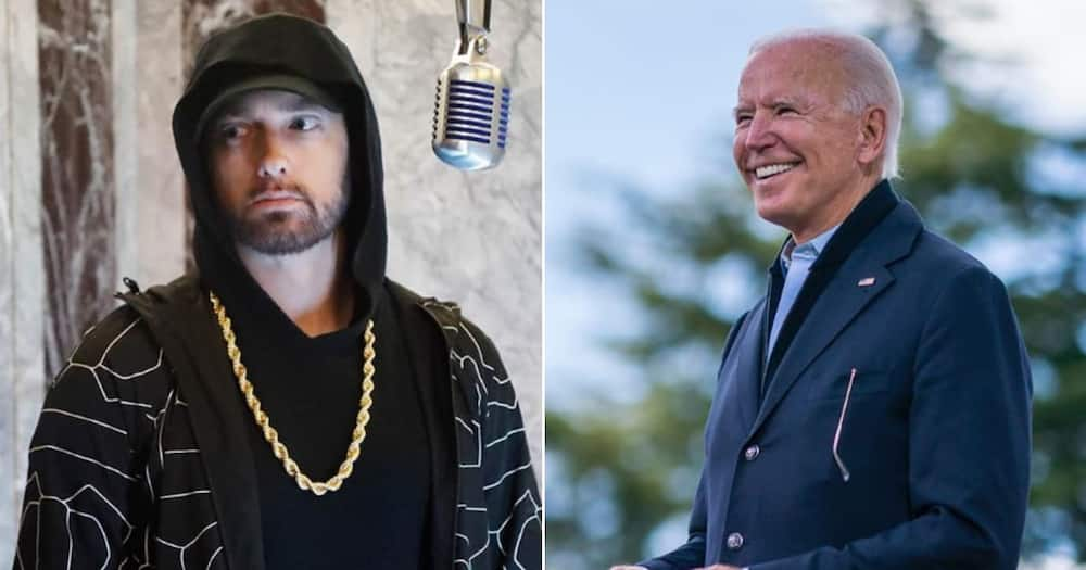 Eminem fans rally to show Biden support: Michigan did the thing