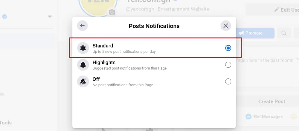 New Facebook algorithm: How to see YEN.com.gh news in your News Feed now