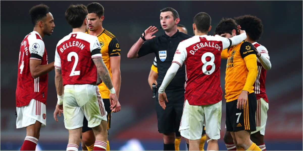 Arsenal slip to 14th on the Premier League table following disappointing result against Wolves