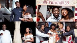 30 beautiful photos drop as Citi FM's Frema Adunyame holds 39th birthday party with stars