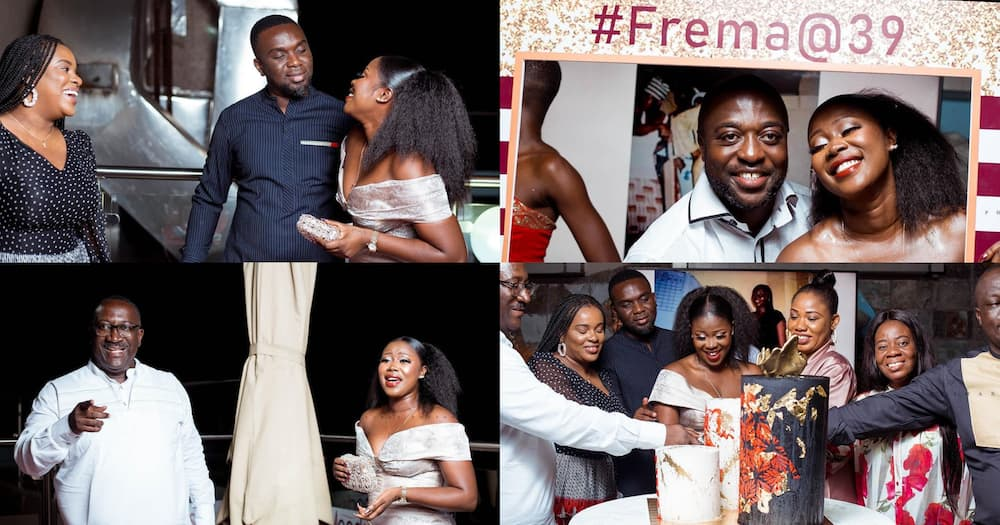 Citi FM's Frema Adunyame holds birthday party with Joe Mettle, Sammens, KOD, others (photos)