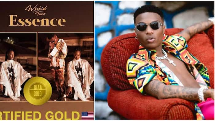 Wizkid Continues to Break Records as Essence becomes Gold certified in the US