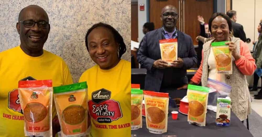 Kwamena & Penelope: Ghanaian couple who'd never used retirement money saved enough to start jollof business