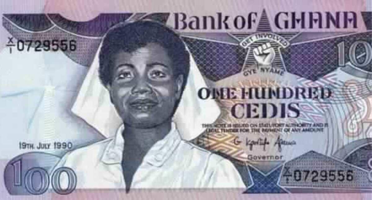 Meet Docia Naki Kisseih the Ghanaian woman on the old ¢100 banknote