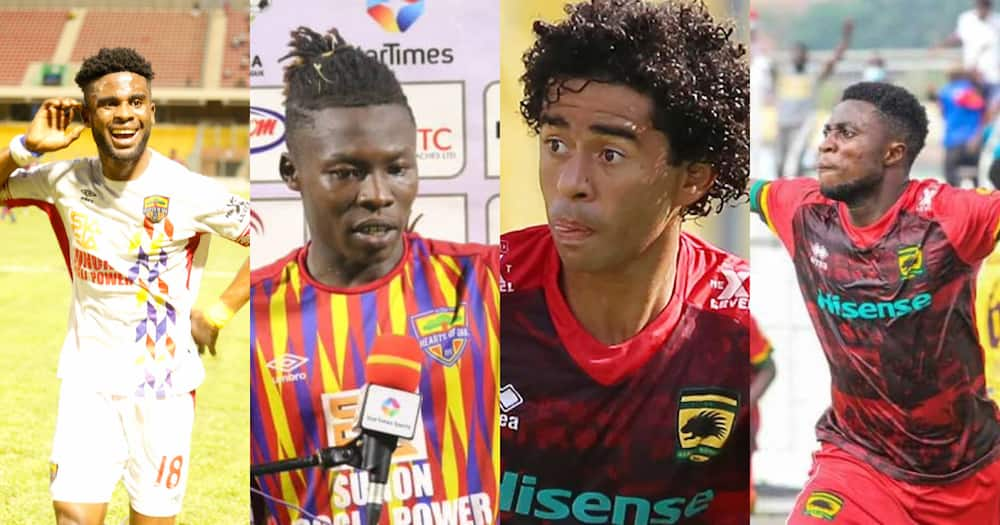 Six players to watch out for in Hearts versus Kotoko super clash