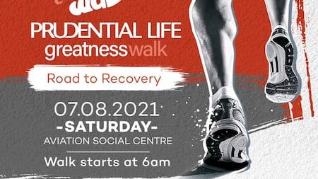 EMY Africa partners with Prudential Life Insurance for Greatness Walk on August 7