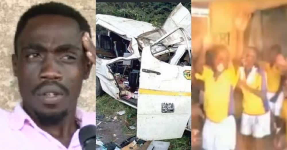 Coach of 8 child football players who perished in Offinso crash speaks on incident