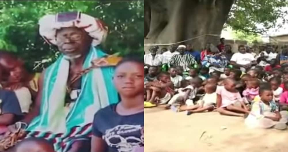 Ghanaian man with 43 wives and 200 children discovered in Upper East in video