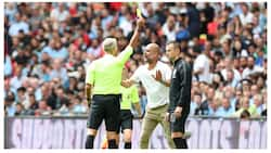 Guardiola sets new unusual record during Man City's Community Shield clash with Liverpool