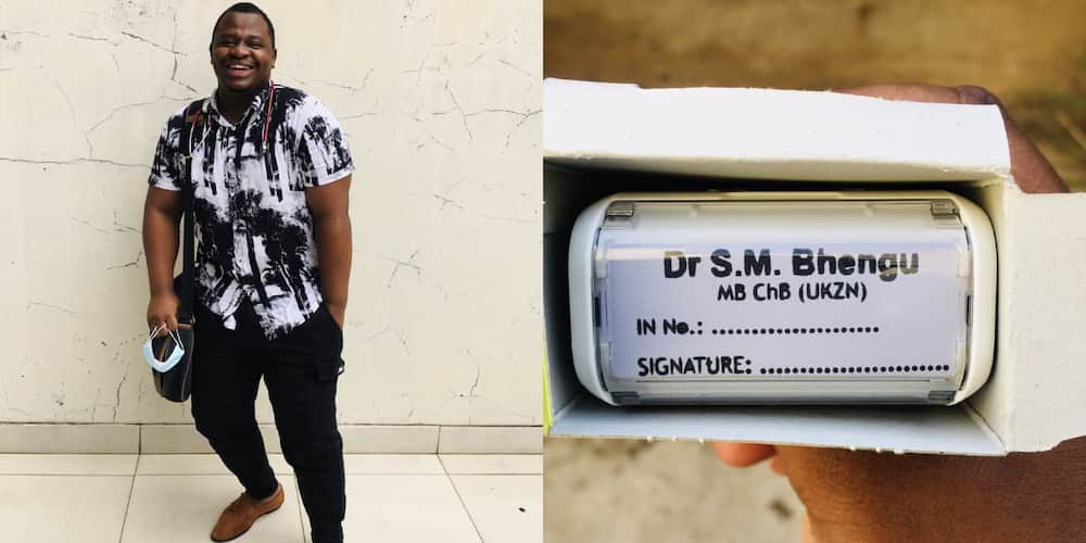 """""""It Ended in MBChB """": Man Celebrates Becoming a Doctor With Hearty Post"""