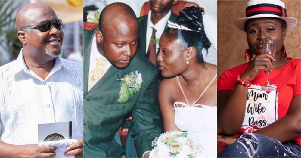 Nana Aba Anamoah celebrates Kwame Sefa Kayi's wife, Barbara, on her birthday (photos)