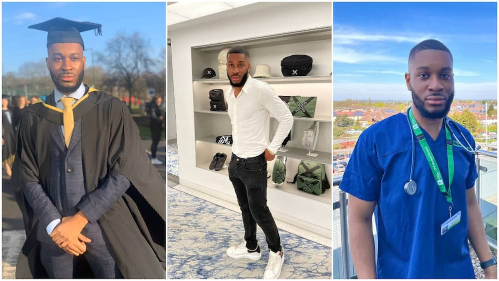 Don't Come back: Reactions as Nigerian Man in UK Bags 2 Degrees, Starts Businesses, Becomes Doctor in 5yrs
