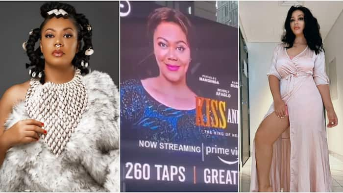 Kiss and Tell: Nadia Buari featured on Times Square Billboard to promote movie; video pops up