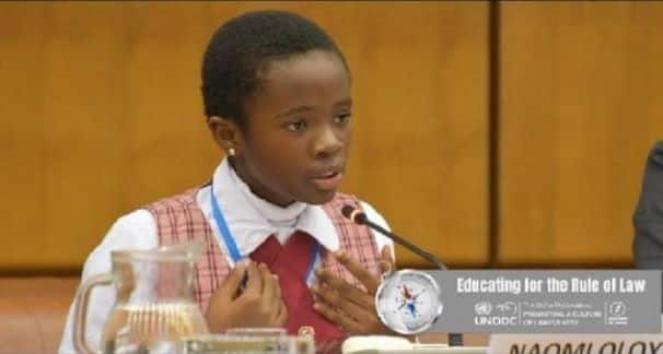 11-year-old JHS student wows 200 delegates at int'l conference (Photo)