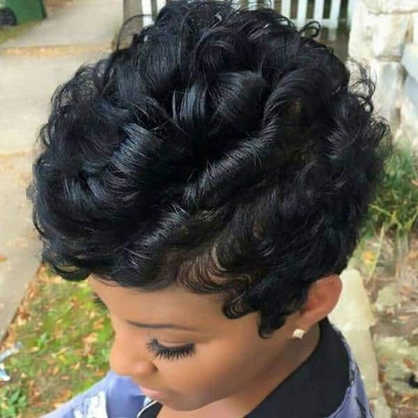 images of curly weaves