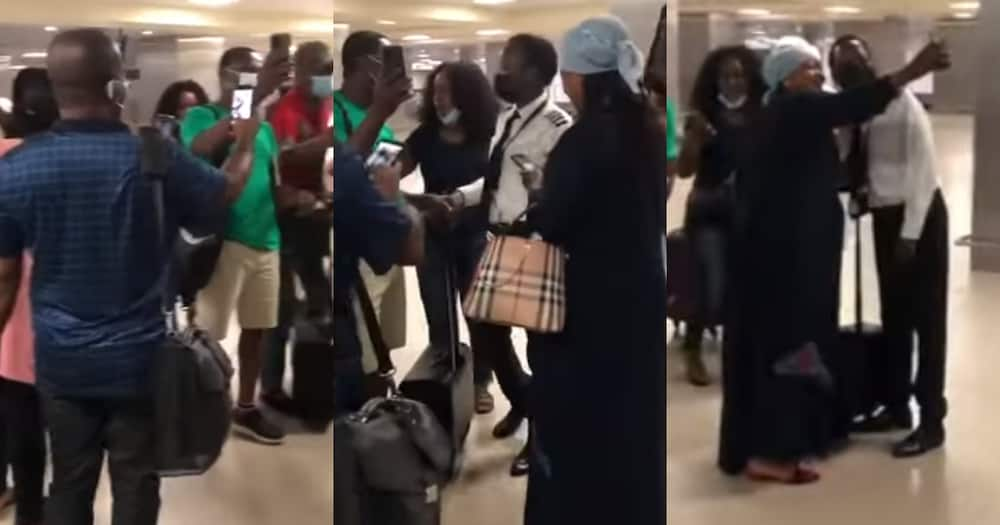 Ghanaian female pilot celebrated after skilfully landing plane amid bad weather