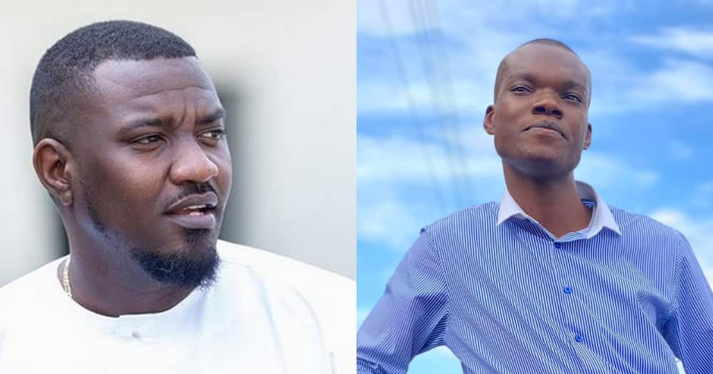 John Dumelo commends Caleb Kudah for being daring in security zone