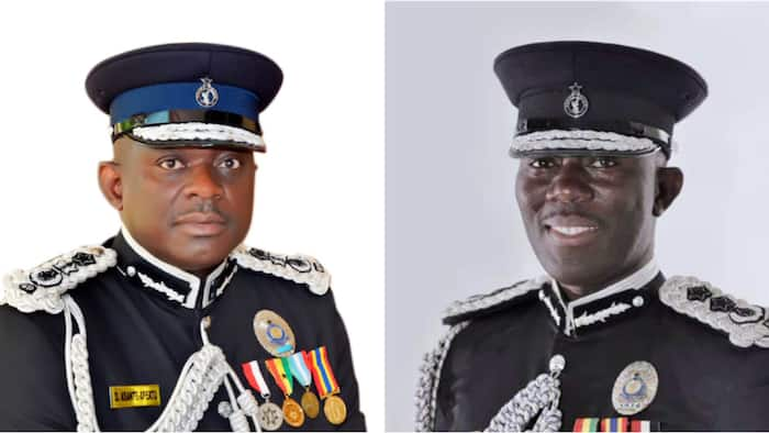 Meet all 4 Inspectors General of Police appointed by President Akufo-Addo