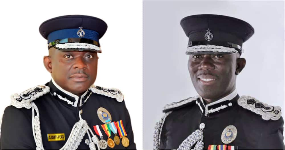 Meet all 3 Inspectors General of Police appointed by President Akufo-Addo