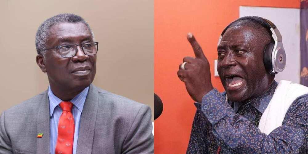 Captain Smart in trouble as Professor Frimpong Boateng wins GHC1million defamatory suit against him