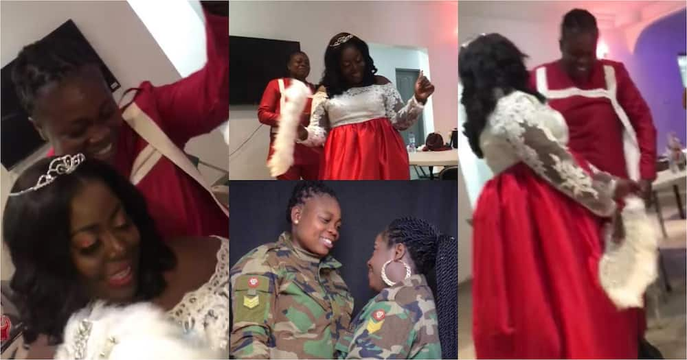 Two lesbians reportedly marry in Ghana; wedding videos drop