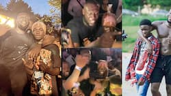 Beautiful video drops as Yaw Tog reunites with Stormzy at his 28th birthday celebration in the UK