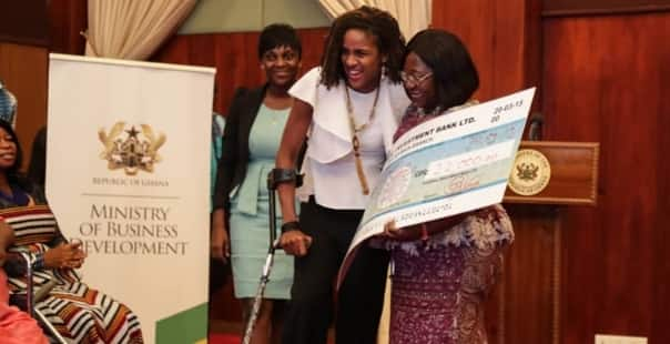 Government gives GHC31,000 to 30 disabled female entrepreneurs
