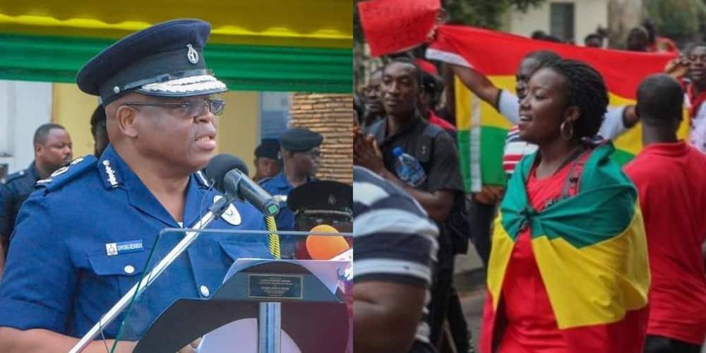 No one can stop us; we are demonstrating - FixTheCountry campaigners tell police
