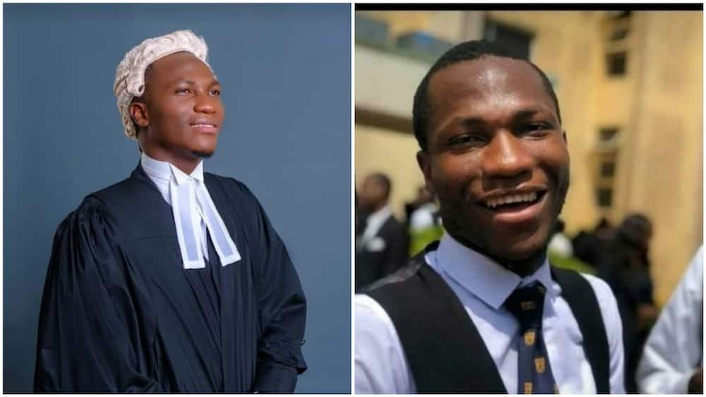 A collage showing the best graduate student. Photo source: Yusuf Asamuu Olalere
