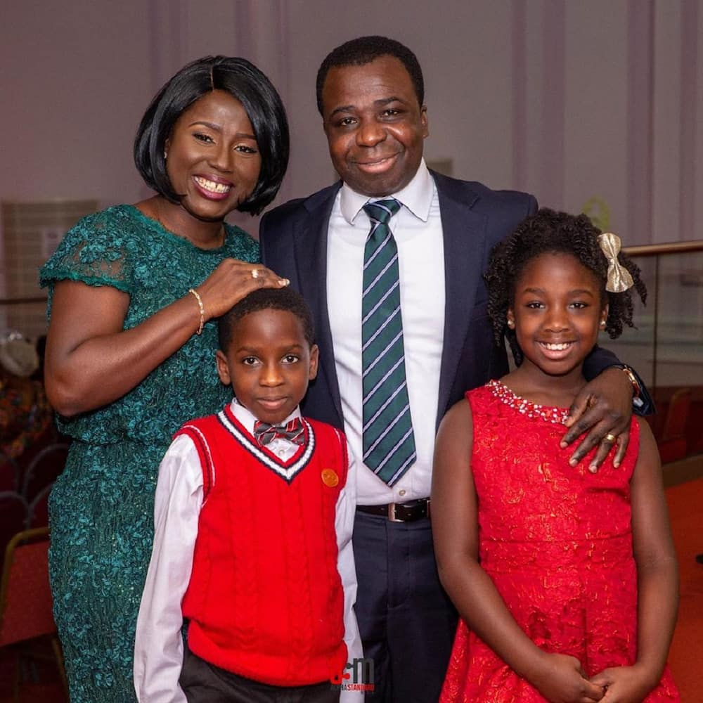 Diana Hamilton's twin daughter Michaela stuns Ghanaians with her speech (Video)