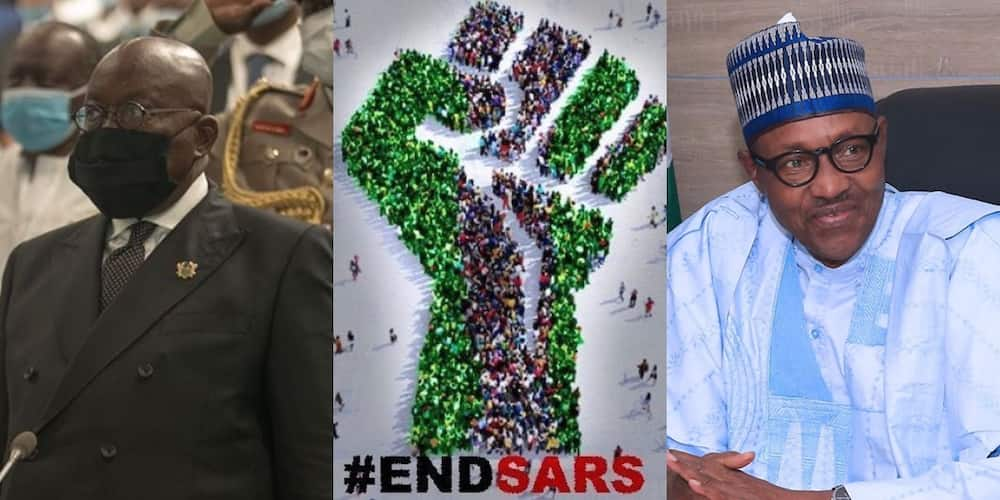 Mixed reactions as Akufo-Addo makes statement on EndSARS protests