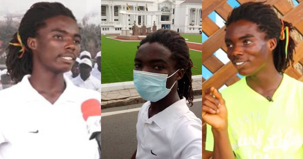 Tyrone Marghuy: Photo Of Achimota Rasta Boy Appearing In Court Over Admission Saga Pops Up