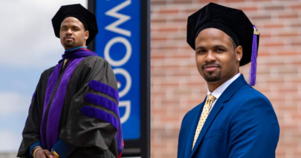 I remember sitting in my room ready to give up - Man inspires as he graduates with law degree