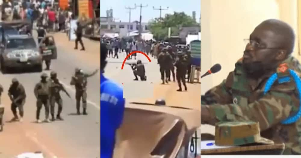 Ejura Shootings: Soldier on his knees didn't fire any shots - Commander