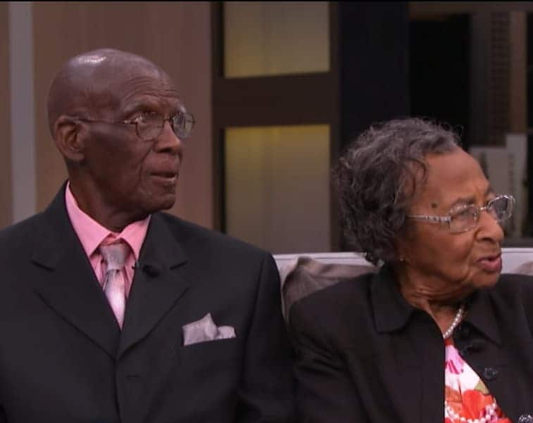 Couple married for 82 years say secret to happy marriage is communication