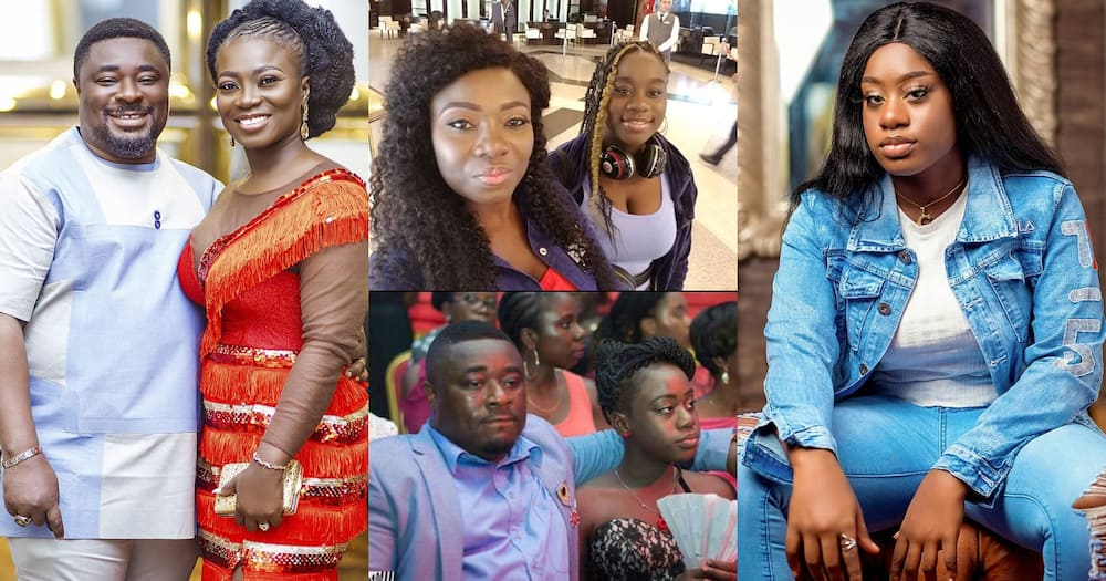 Calista: Stacy Amoateng and Okyeame Quophi celebrate 1st daughter on her birthday (photos)